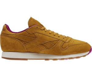 Reebok CL Leather MSP Brown Fuchsia