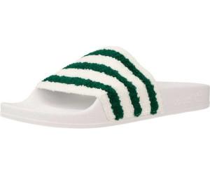 Adidas Adilette Slides running white ftw/sub green/running white