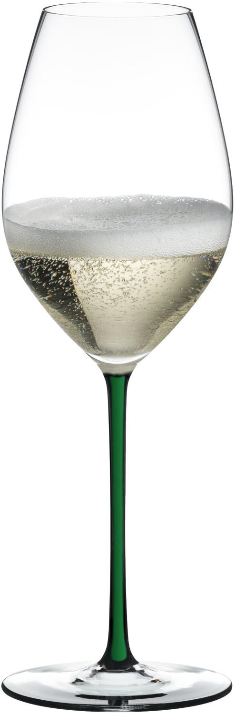 Riedel Champagner Wein Glas grün