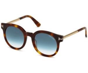 Tom Ford Damen Sonnenbrille »Janina FT0435«, braun, 52P - braun/grün