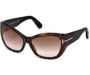 Tom Ford Damen Sonnenbrille »Corinne FT0460«, braun, 52G - braun/braun