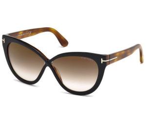 Tom Ford Damen Sonnenbrille »Arabella FT0511«, schwarz, 01D - schwarz/grau