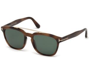 Tom Ford Herren Sonnenbrille »Holt FT0516«, braun, 53N - havana/grün