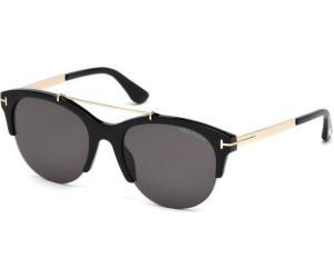 Tom Ford Damen Sonnenbrille »Adrenne FT0517«, braun, 52G - braun/braun