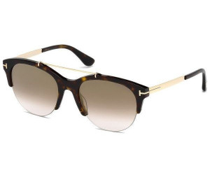 Tom Ford Damen Sonnenbrille »Adrenne FT0517«, braun, 56Z - havana/Mirror