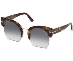 Tom Ford Damen Sonnenbrille »Savannah FT0552«, braun, 56B - havana/grau
