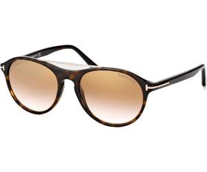 Tom Ford Herren Sonnenbrille »Cameron FT0556«, braun, 53N - havana/grün