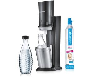 Sodastream Crystal 2 0 Titan Mit 2 Glaskaraffen Zylinder Ab 114 00