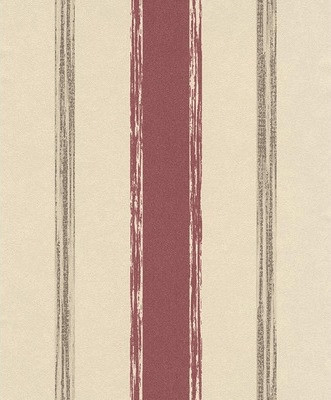Erismann City Glam Streifen rot
