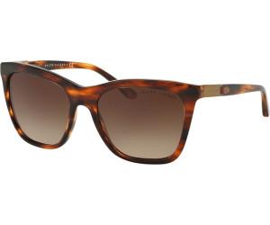 Ralph Lauren Damen Sonnenbrille » RL8151Q«, schwarz, 500187 - schwarz/grau