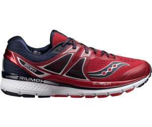 Saucony Triumph Iso  Men S Shoes Red Navy