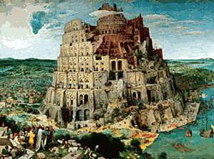 Ravensburger Brueghel d. Ältere - Turmbau zu Babel (5000 Teile)