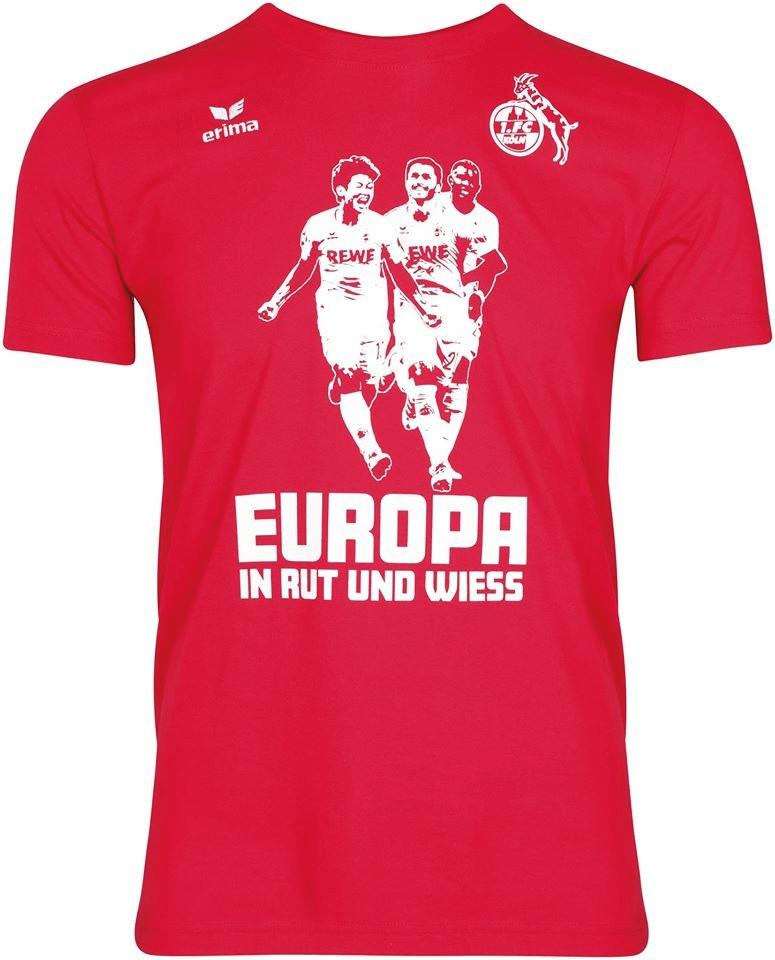 Erima 1. FC Köln T-Shirt Europa