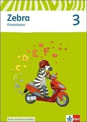 Zebra. Förderkartei 3. Schuljahr