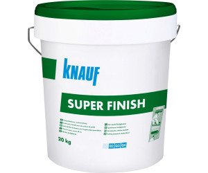 knauf sheetrock superfinish 20kg ab 24 80 preisvergleich bei. Black Bedroom Furniture Sets. Home Design Ideas