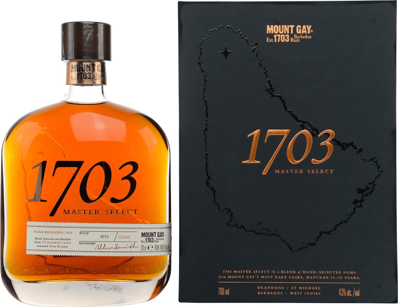 Mount Gay 1703 Master Select 0,7l 43%