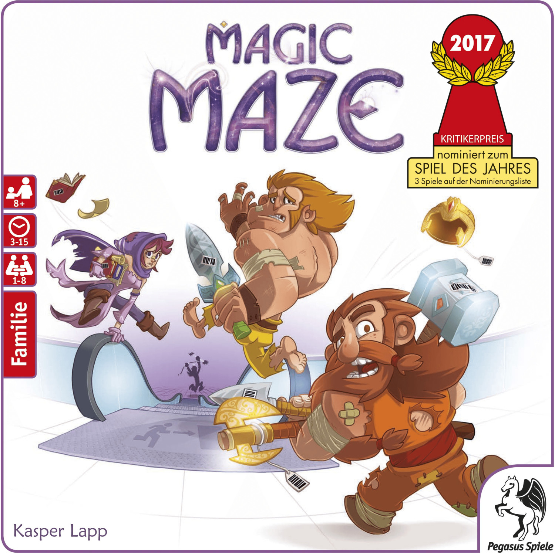 Pegasus Magic Maze (deutsch)