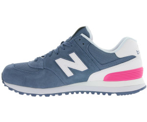 e80788d39ea3f Buy New Balance WL574 blue/pink (WL574CNB) from £94.37 – Best Deals ...