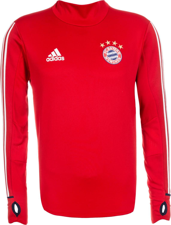 adidas TRG Sudadera de FC Bayern de Munich, Hombre, Rojo (rojfcb/Blanco), XS