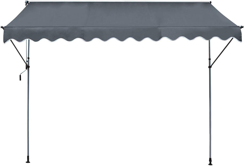 Leco Klemmmarkise 195 x 120 cm