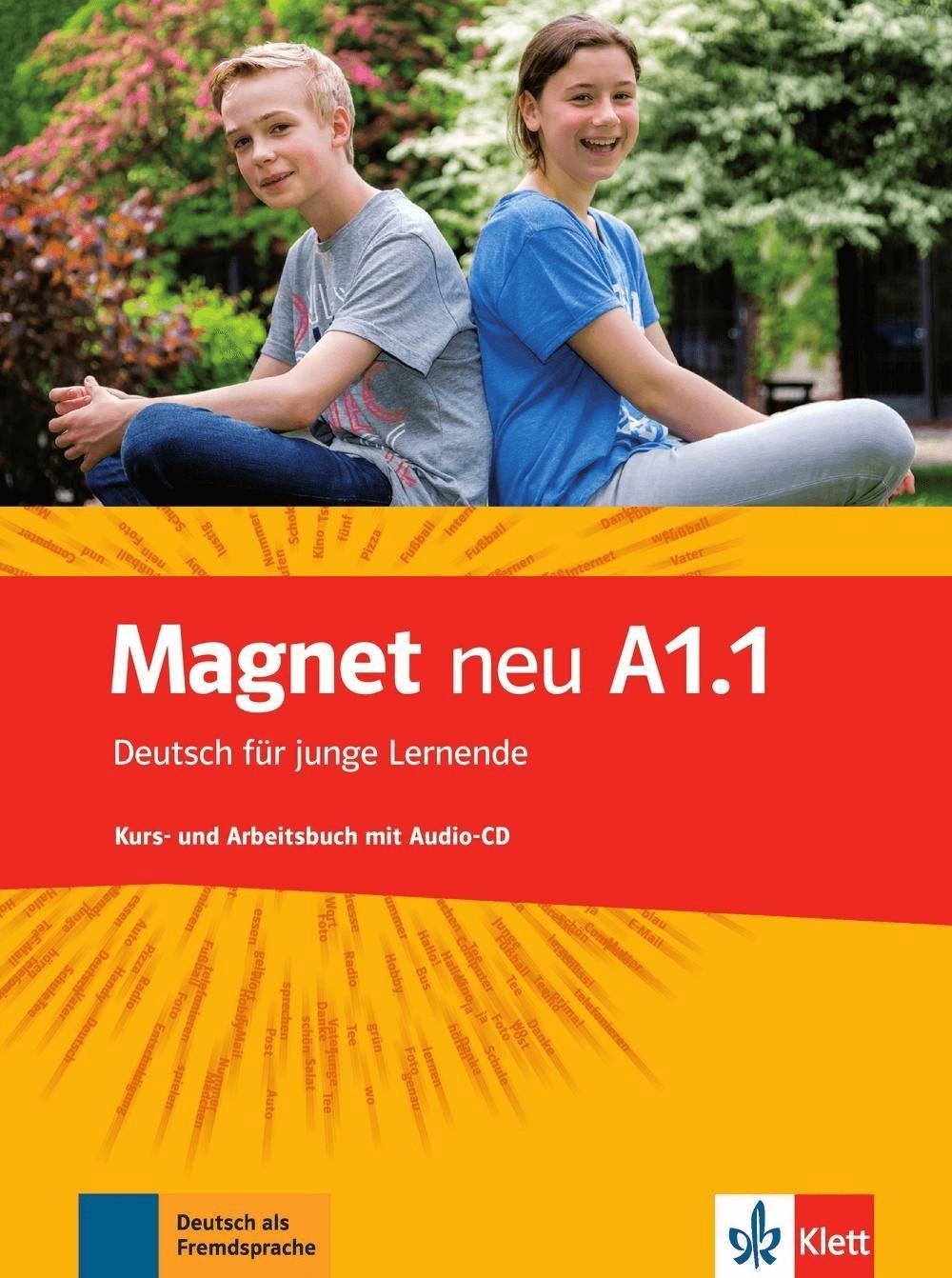 Magnet neu A1.1. Kurs- und Arbeitsbuch mit Audio-CD