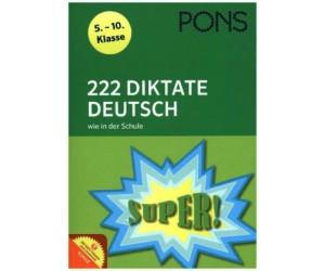 PONS 222 Diktate Deutsch wie in der Schule