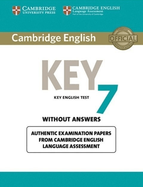 Cambridge English Key 7. Student\ s Book without answers