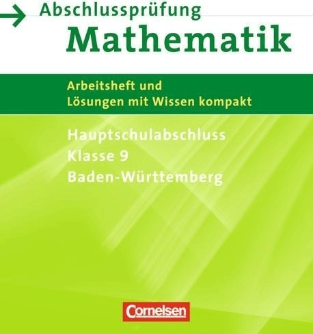 Abschlussprüfung Mathematik 9. Schuljahr. Haupt...