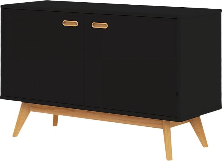 Tenzo Kommode Bess schwarz (2172-024)