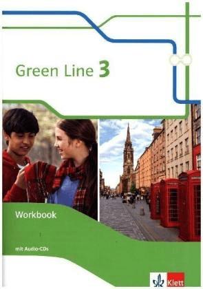 Green Line 7. Klasse. Workbook mit Audio-CDs [Geheftete Ausgabe]