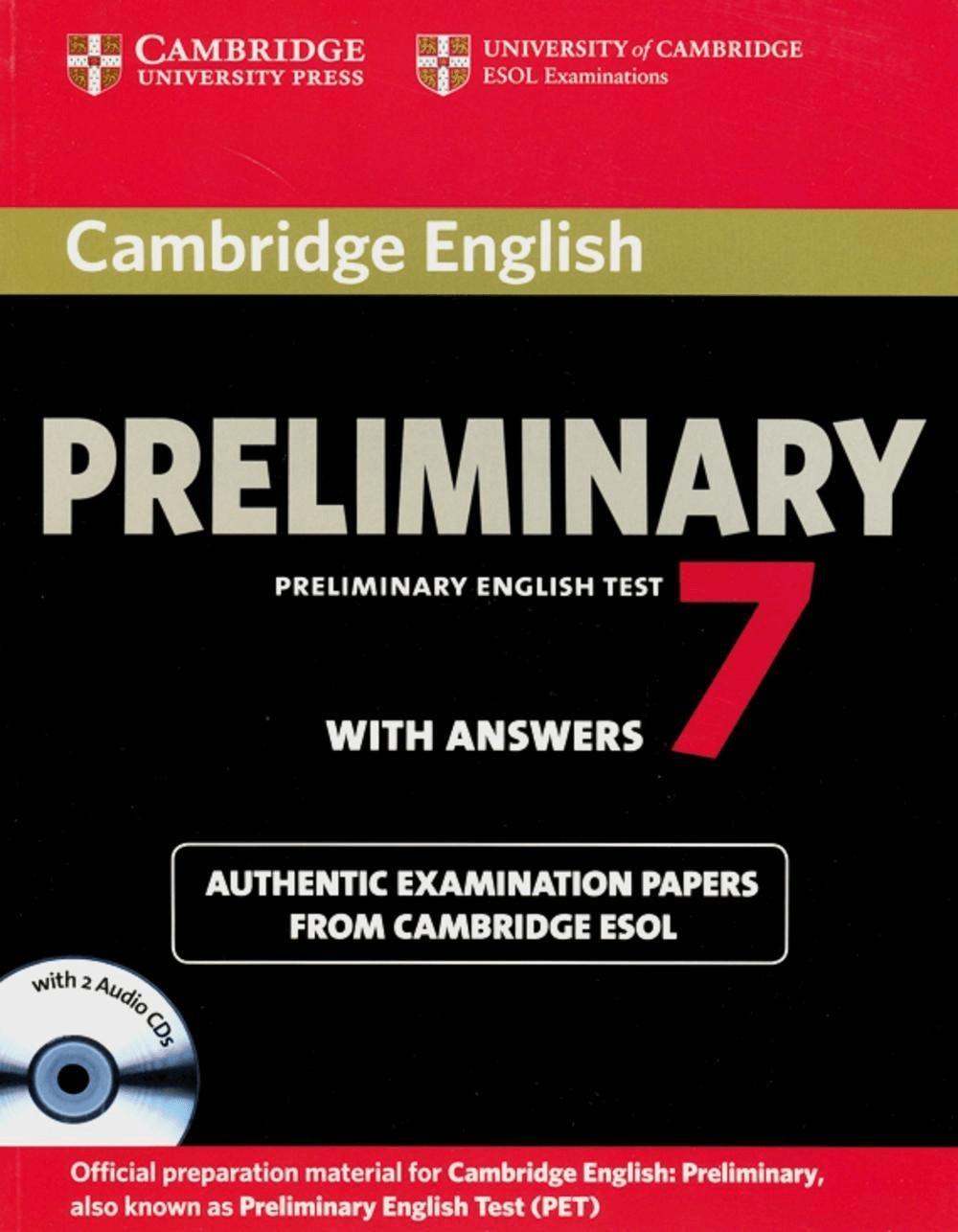 Cambridge Preliminary English Test 7 / Student\...
