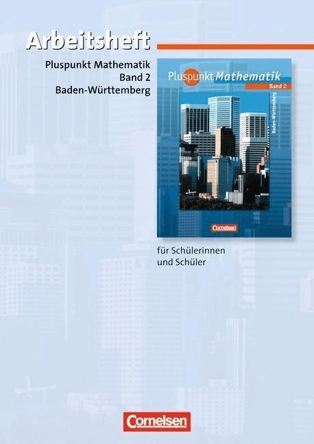 Pluspunkt Mathematik  Ausgabe Hauptschule Baden-Württemberg: 6. Schuljahr  Arbeitsheft Bd.2