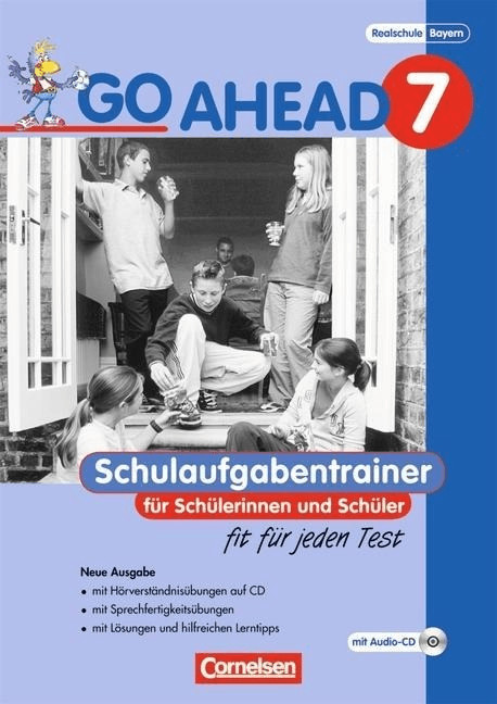 Go Ahead 7. Jahrgangsstufe. Schulaufgaben- und Prüfungstrainer