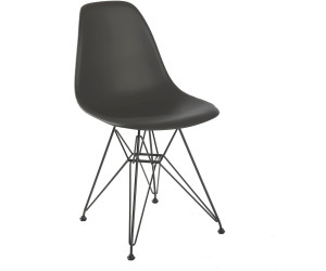 vitra eames plastic side chair dsr h43 basalt ab 259 00. Black Bedroom Furniture Sets. Home Design Ideas