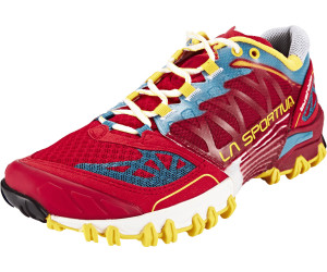 La Sportiva Bushido Rot, Damen Trailrunning- & Laufschuh, Größe EU 39.5 - Farbe Berry Damen Trailrunning- & Laufschuh, Berry, Größe 39.5 - Rot