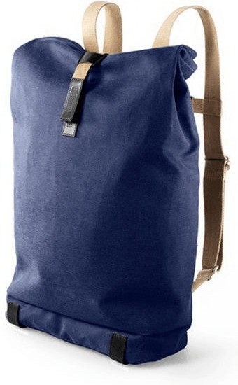 Brooks Pickwick Rucksack dark blue