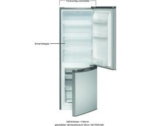 Bomann Kühlschrank Temperatur : Bomann kg inox look ab u ac preisvergleich bei