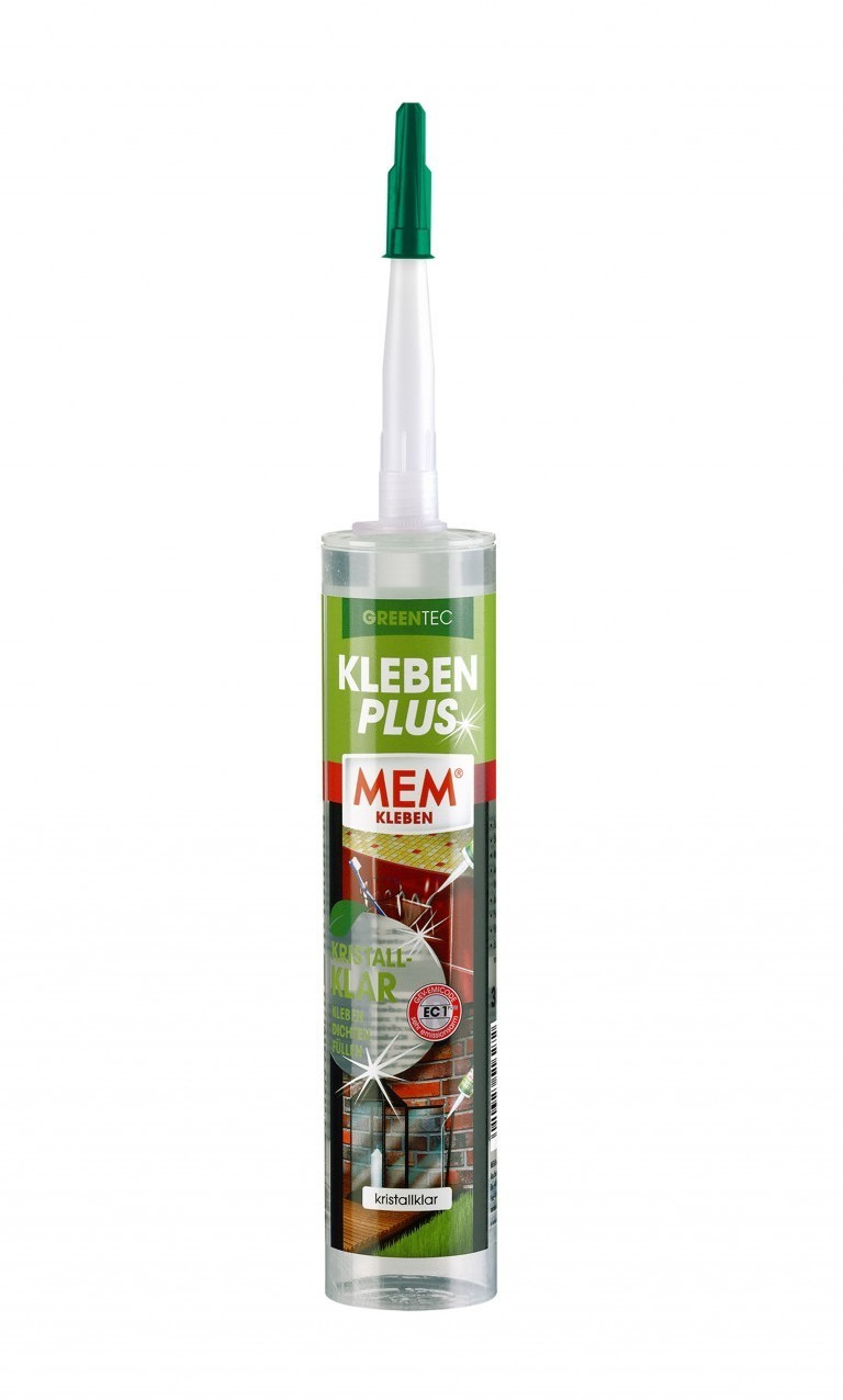 MEM Kleben Plus Kristallklar Greentec 300 g