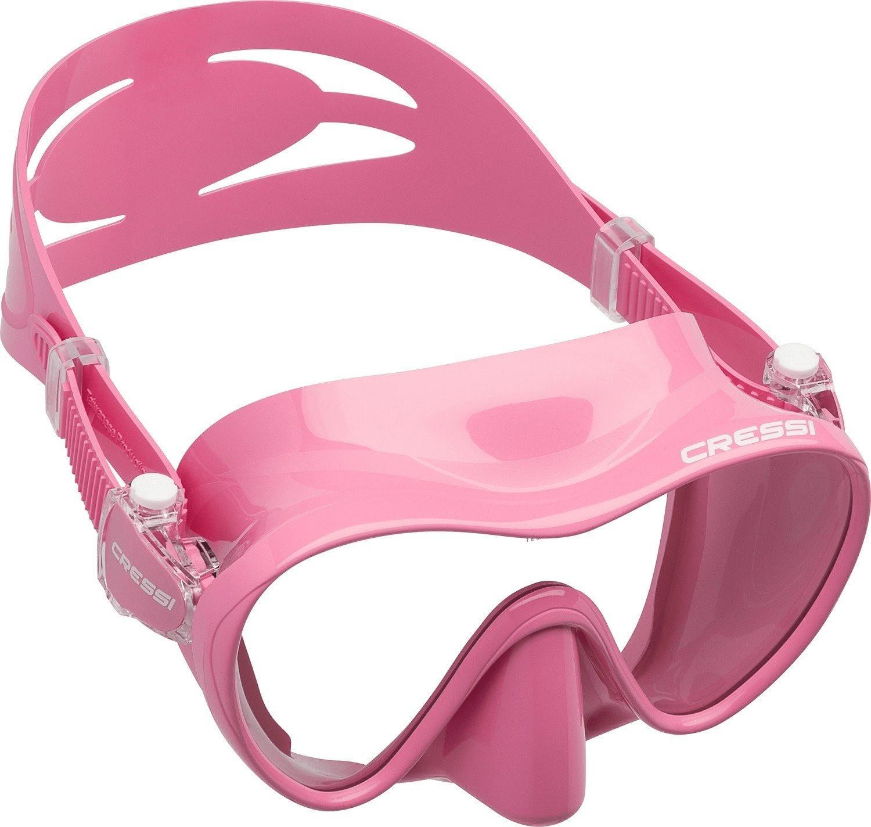 Cressi F1 Tauchmaske pink