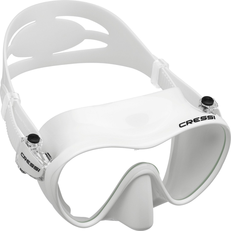 Cressi F1 Tauchmaske weiß