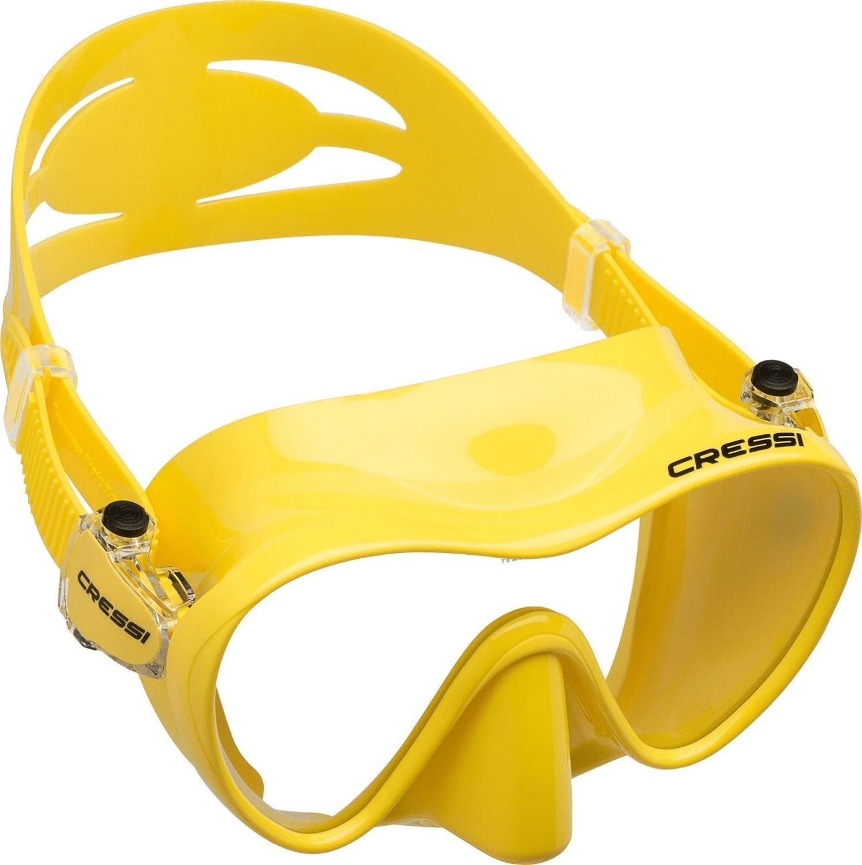 Cressi F1 Tauchmaske gelb