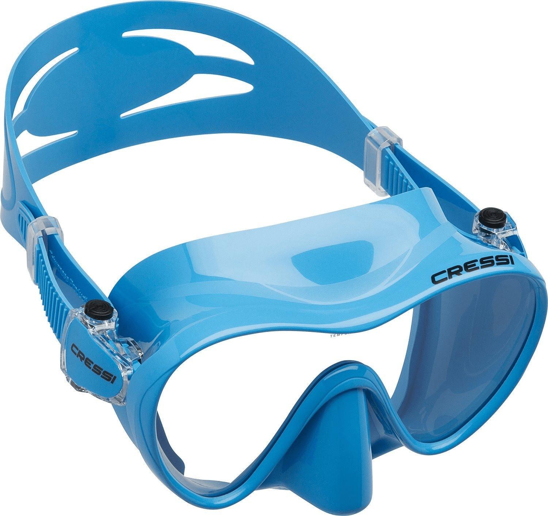 Cressi F1 Tauchmaske blau