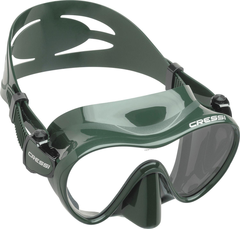Cressi F1 Tauchmaske grün