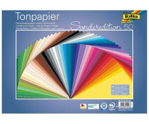 Tonzeichenpapier A3 10 Blatt Tonpapier Folia