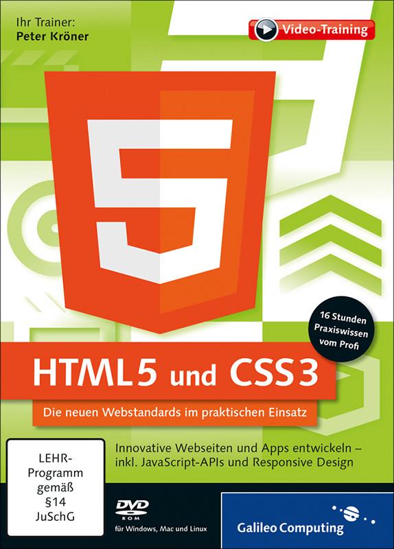 Rheinwerk Verlag HTML5 und CSS3: Die neuen Webs...