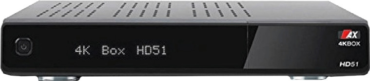 Opticum 4K-BOX HD51 UHD 2160p E2 Linux 2xDVB-S2...