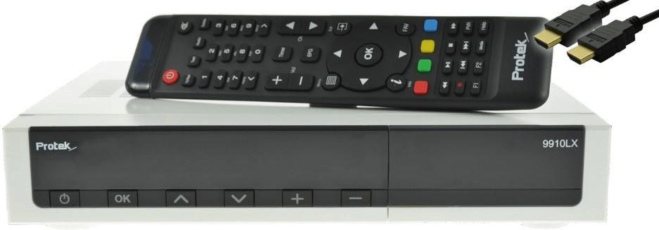 Protek 9911 LX HD E2 Linux 1x DVB-S + 1xDVB-C/T...