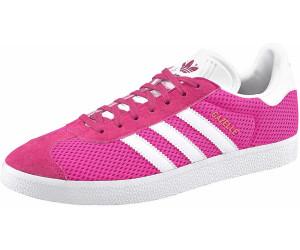 3598a29d65e7 Buy Adidas Gazelle Shock Pink Footwear White from £37.83 – Best ...