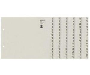 teilig extrabreit f/ür Klarsichth/üllen 5 St/ück Tiger Register A4 5