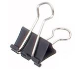 0,10€//Stück Foldback-Klammer schwarz 19 mm 12er Pack Klemmweite 7 mm